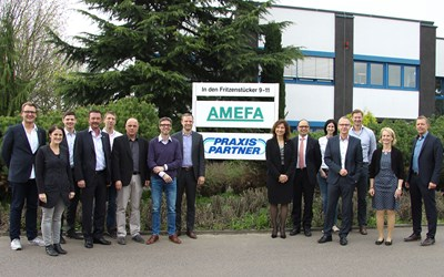 Der Arbeitskreis kooperatives Marketing traf sich am 5. und 6. April bei der AMEFA in Limburg.